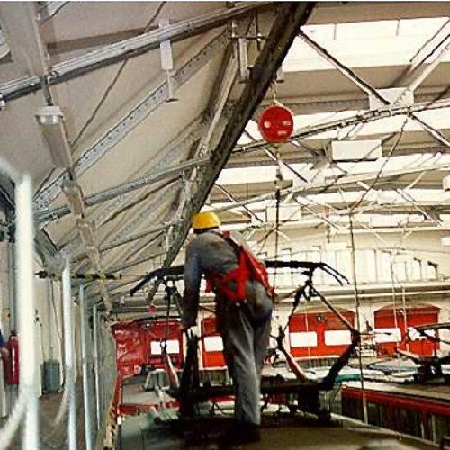 FABA A11 HORIZONTAL – horizontální zajišťovací systém s ocelovou lištou a vnitřním jezdcem