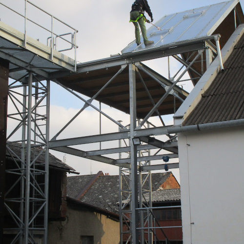 Školící centrum CVIČÁK pro bezpečnou práci ve výškách